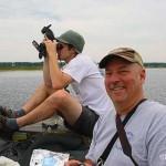 census takers Phil Odum and Caleb Putnam