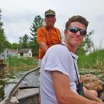 census takers Caleb Putnam and Randy Kling